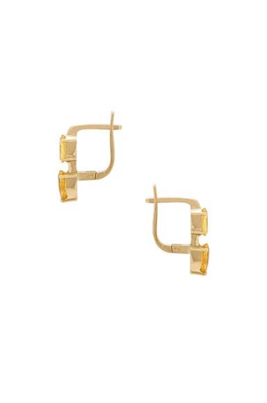 Oval & Pear Earrings