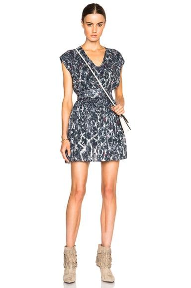 IRO Flavia Dress in Grey Multi