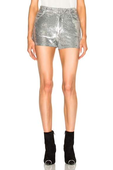 IRO Obi Shorts in Silver