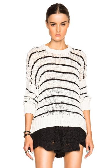 IRO Odessa Sweater in Ecru & Black