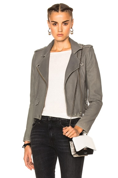 IRO Ashville Jacket in Stone Gray