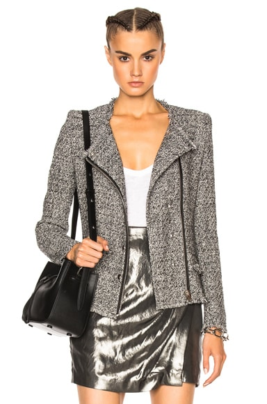IRO Carlota Jacket in Black & White
