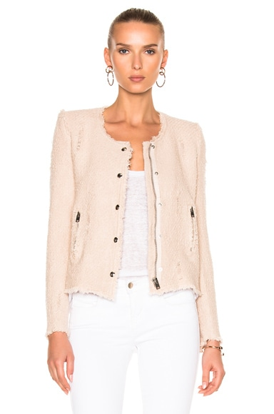 IRO Agnette Jacket in Pink Sand