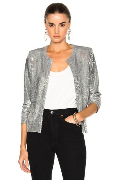 IRO Omana Jacket in Silver