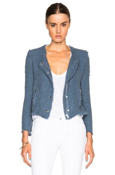 IRO Agnette Jacket in Stone Blue