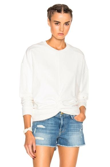 IRO Muka Sweatshirt in Ecru