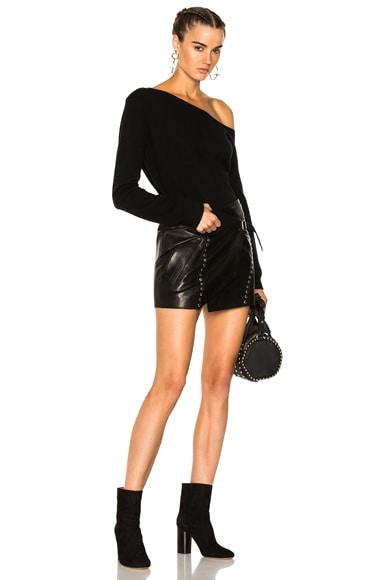 Mupper Leather Skirt