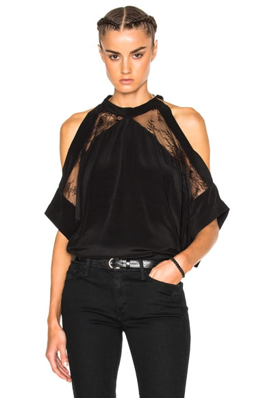 IRO Mya Top in Black