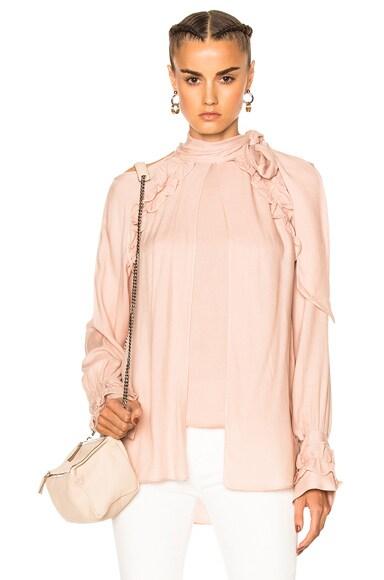IRO Frejan Top in Pink Sand
