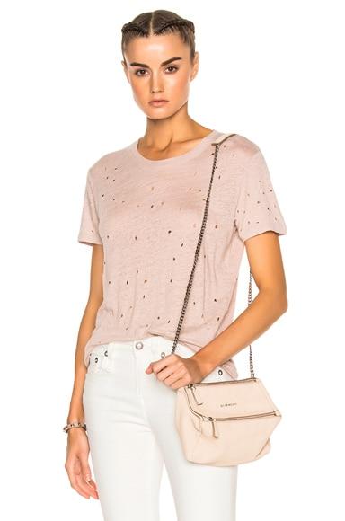 IRO Clay Tee Shirt in Pink Sand