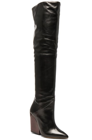 Leather Evina Boots