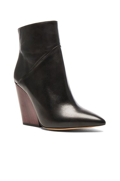 Leather Lasdia Booties