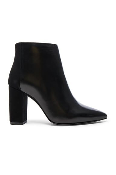 IRO Leather Shenna Booties in Black