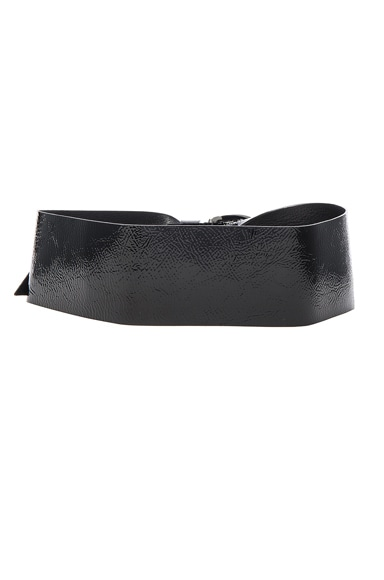 Yanis Patent Leather Belt