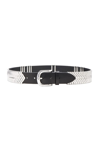 Isabel Marant Faithful Belt in Silver