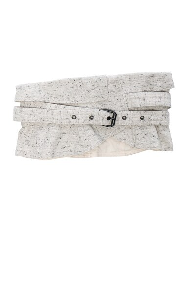 Isabel Marant Erika Waist Belt in Chalk