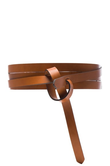 Isabel Marant Bow Belt in Natural