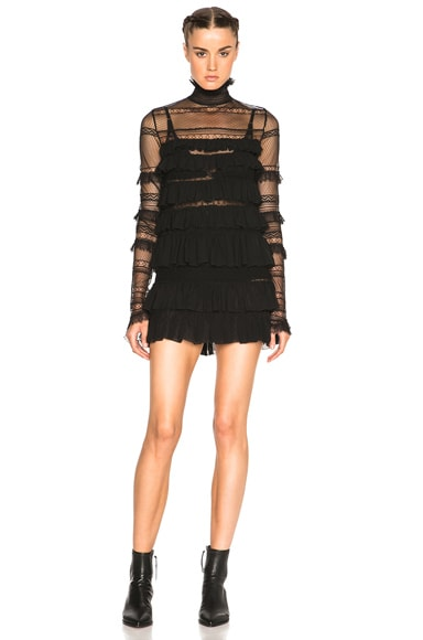 Isabel Marant Easy Evening Trevor Dress in Black
