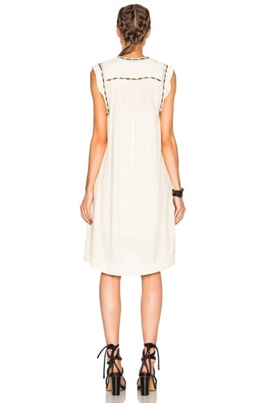 Cazar Light Silk Bourette Dress