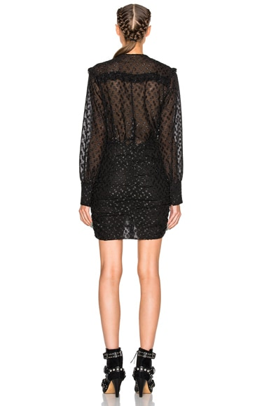 Adriana Lurex Dot Dress