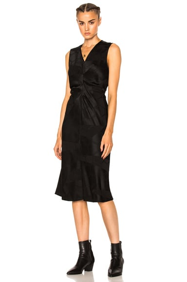 Isabel Marant Ravenax Dress in Black