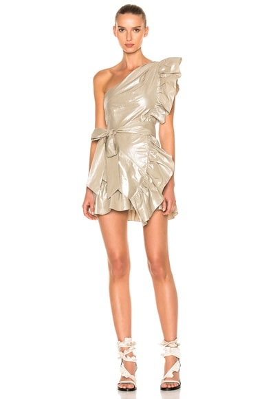 Isabel Marant Lavern Dress in Silver