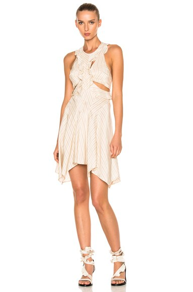 Isabel Marant Shelby Dress in Ecru