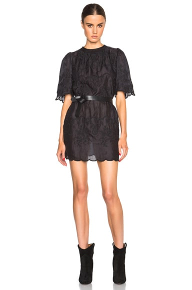 Isabel Marant Ruthel Milas Item Dress in Black