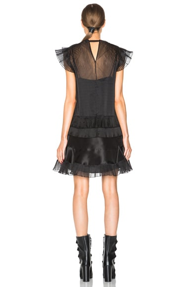 Vila Pleated Organza Dress