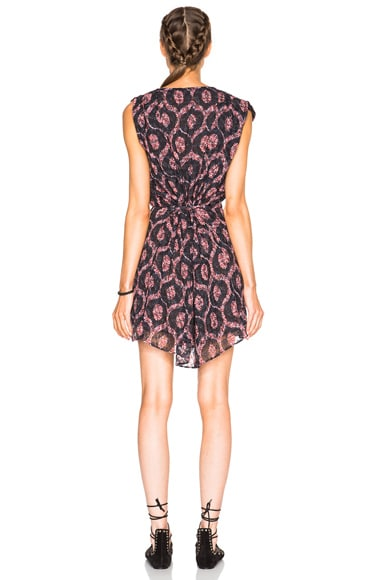 Tuxi Printed Look Dress