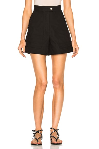 Isabel Marant Trey Shorts in Black