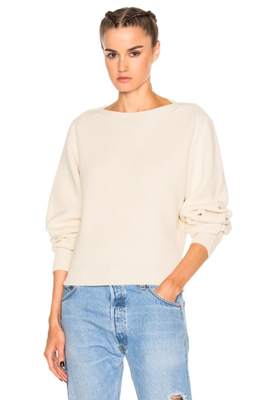 Isabel Marant Fidji Sweater in Ecru