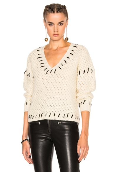 Isabel Marant Goldy Sweater in Ecru