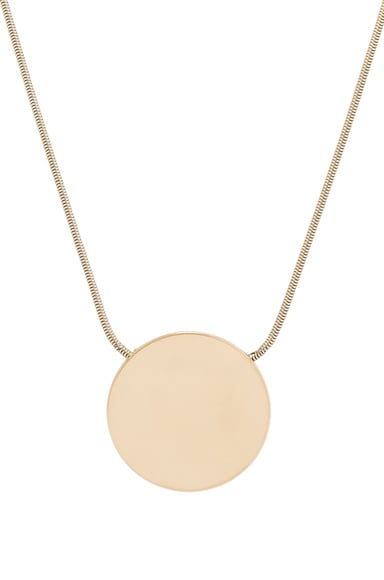 Isabel Marant Oh Necklace in Gold