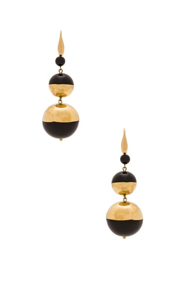 Isabel Marant Peace On Earth Earrings in Black