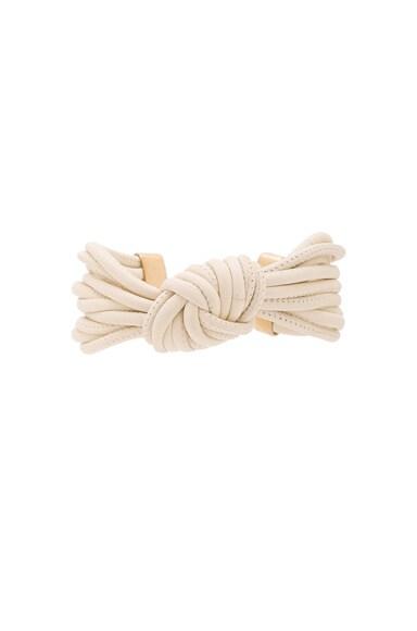 Isabel Marant Caravanes Bracelet in Ecru & Gold