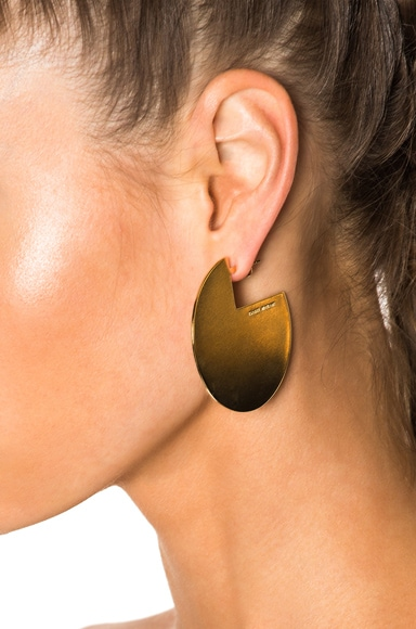 Boucle Oreille Earrings in Gold