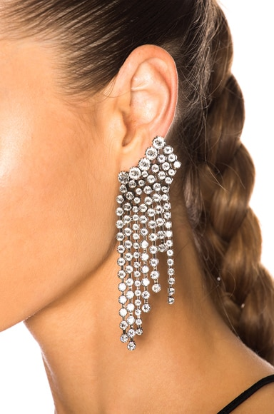 Crystal Cascade Earrings