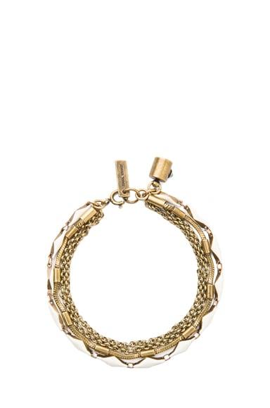 Formentera Horn Brass & Resin Bracelet