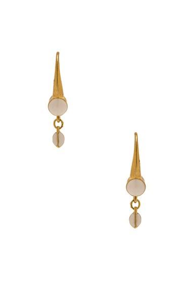 Isabel Marant On Plane Again Earrings in Gold
