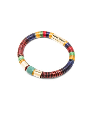 Isabel Marant Stripes Bracelet in Multi
