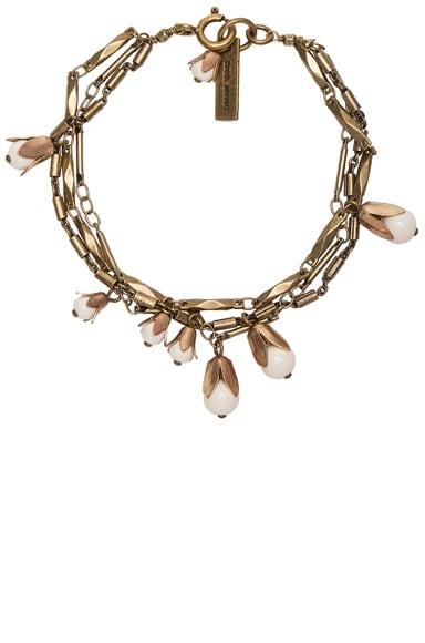 Isabel Marant Fes Bracelet in Ecru