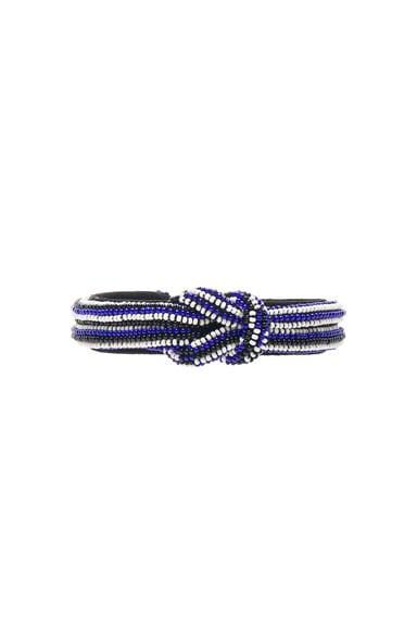 Isabel Marant Bou Saf Saf Bracelet in Navy