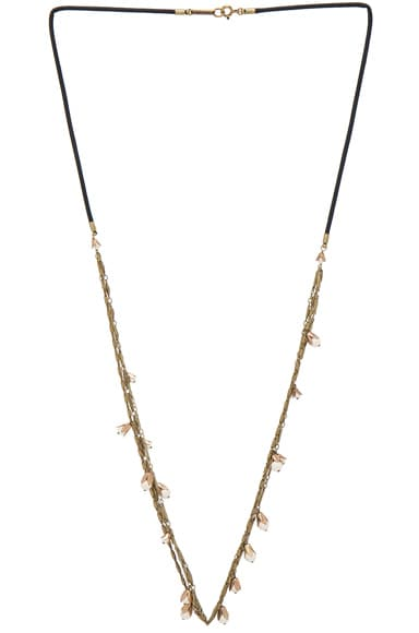Isabel Marant Fes Necklace in Ecru