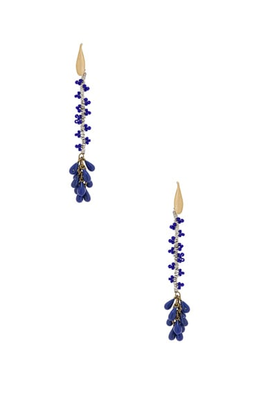 Isabel Marant Tanger Earrings in Navy