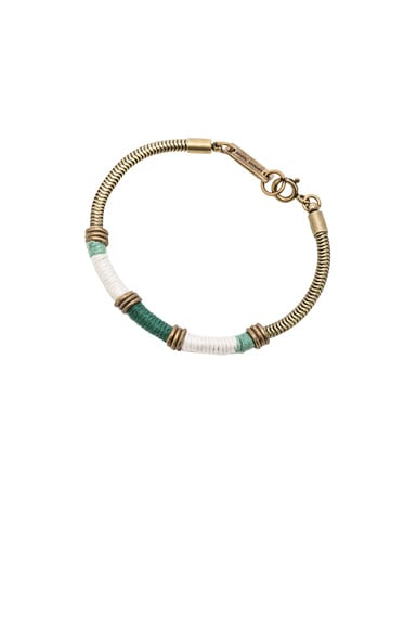 Isabel Marant Yusuf Bracelet in Green