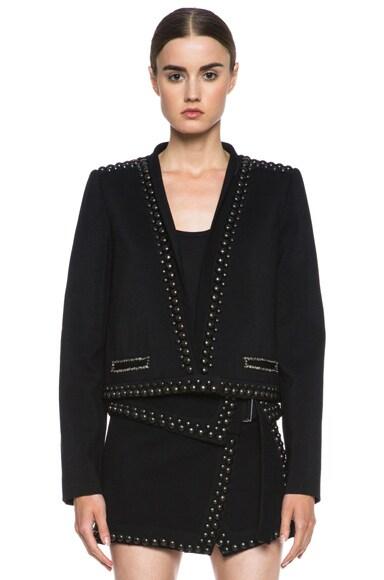 Jewel Wool Embroidered Jacket