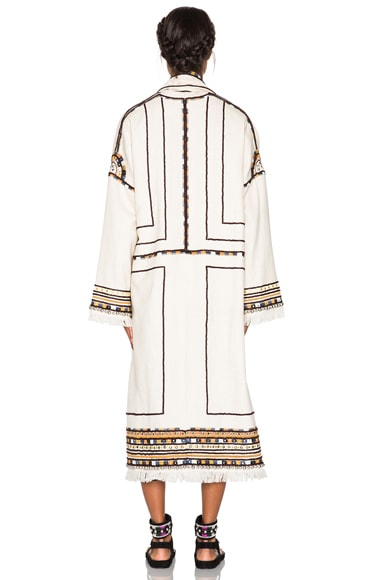 Bering Embroidered Coat
