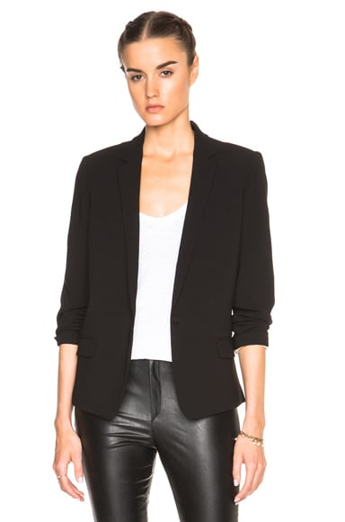 Isabel Marant Mathis Floppy Costard Blazer in Black