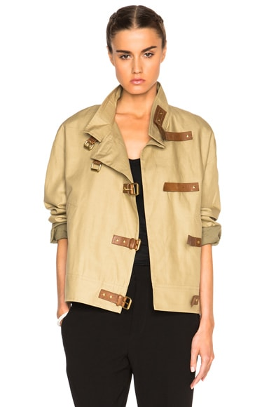 Isabel Marant Haley Summer Coat in Ficelle